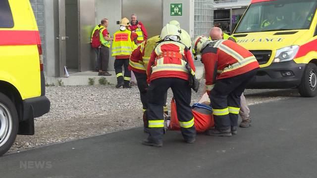 Notfallübung in Rosshäusern
