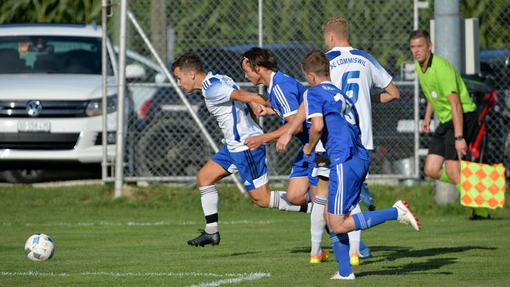 Mit 3:2 schlug der FC Lommiswil den SC Fulenbach.