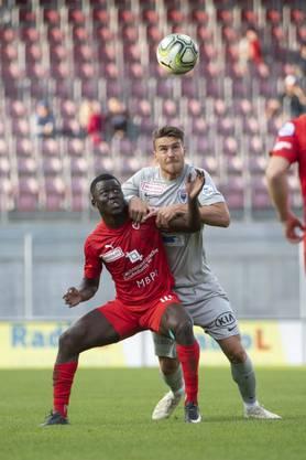 Mohamed Coulibaly kann sich in der Schlussviertelstunde als Doppeltorschütze auszeichnen lassen.