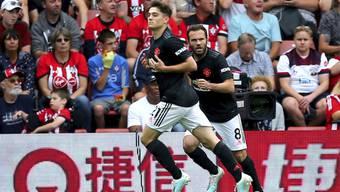 Daniel James (vorne) traf für Manchester United erneut, zum Sieg reichte es trotzdem nicht