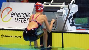 Anna Vismara gelang gleich zweimal der Sprung in die Finalläufe der besten 16 Schwimmerinnnen.