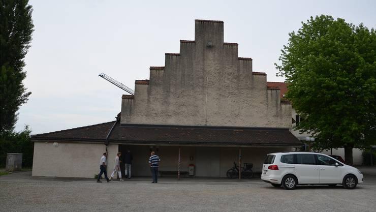 Noch ist unklar, wie die Zukunft der Aula in Schinznach aussieht.