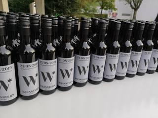 So sieht der neue Wettinger Wein aus.