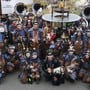 Die Guggenmusik Chärneschränzer aus Winznau ist bereit für die kommende Fasnacht unter dem Motto «Schotten dicht».