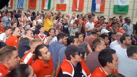 Aargauer Fans litten in Public Viewings mit der Schweizer Nati