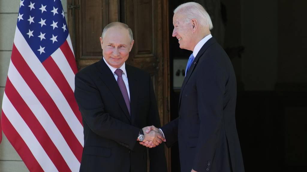 Gipfeltreffen zwischen Putin und Biden hat begonnen