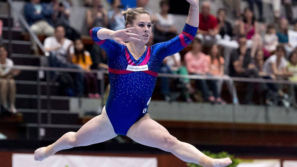 Giulia Steingruber nimmt zum zweiten Mal an den Olympischen Spielen teil