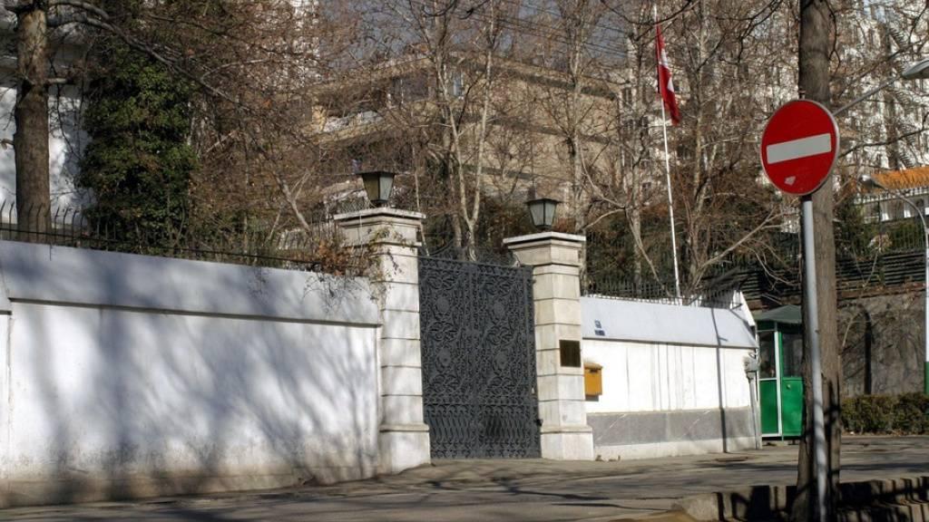 Die Schweizer Botschaft in Teheran. (Archivbild)