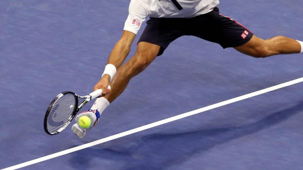 Novak Djokovic verlor erstmals in diesem Turnier einen Satz