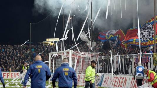 Beim FCA-Heimspiel gegen Basel in der Hinrunde sorgten die Zuschauer im ausverkauften Brügglifeld für eine tolle Kulisse.