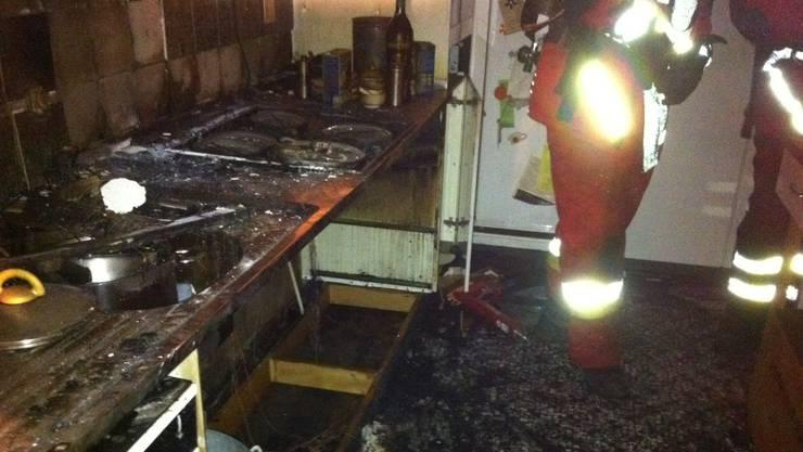 Der Brand ist in der Küche ausgebrochen. (Symbolbild)