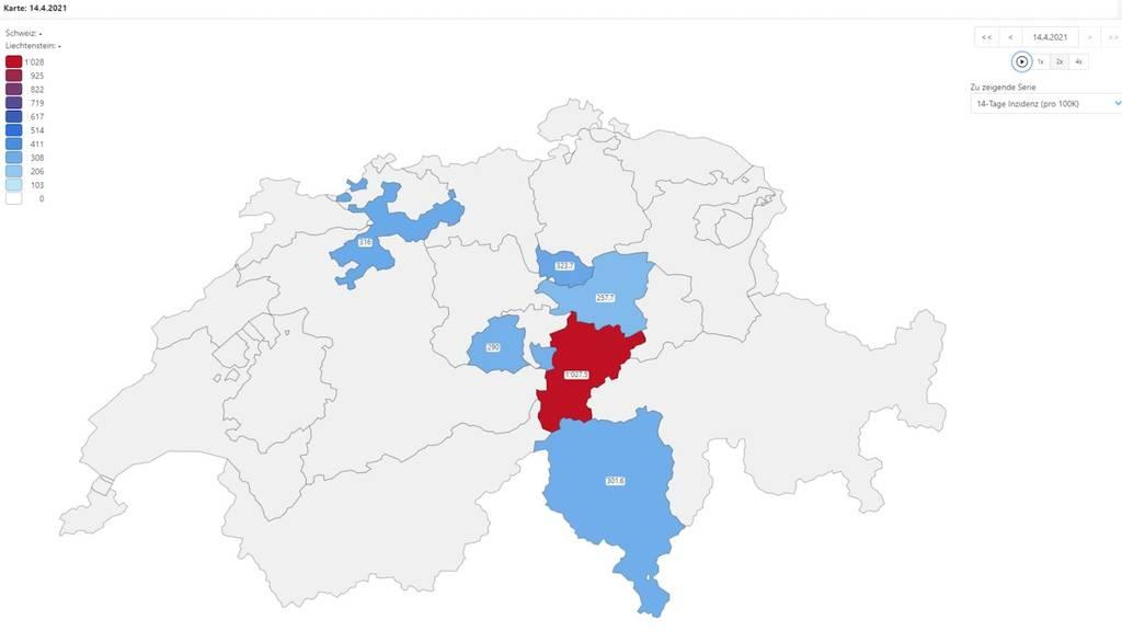 Pandemie im Schnelldurchlauf: Uri ist die neue Westschweiz