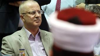 Premierminister Rami Hamdallah bleibt im Amt (Archiv)