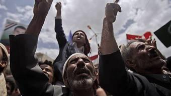 Regierungsgegner demonstrieren im Jemen