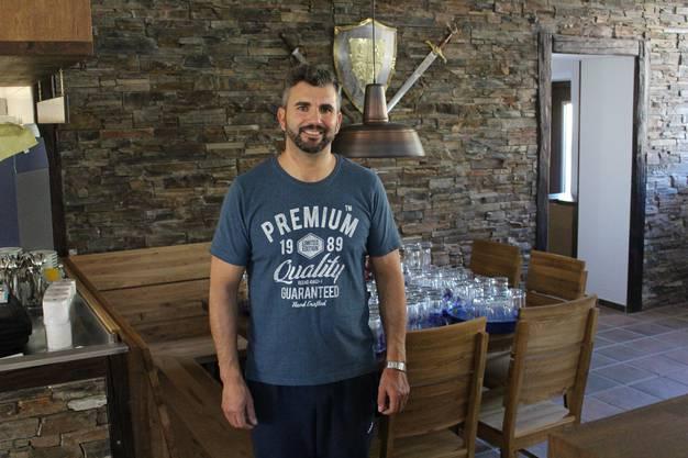 Neues Restaurant Wirtshaus zur Trostburg eröffnet, der neue Wirt Lui Soares