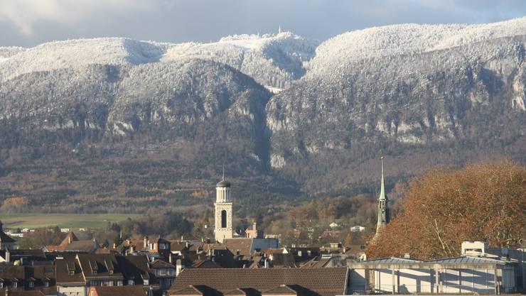 Zwei dreimal Zuckerguss auf dem Jura - mehr lag im November nicht drin.