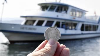 Der umstrittene Schiffsfünfliber ist Geschichte: Der Zürcher Regierungsrat hat ihn abgeschafft. (Bild Archiv)