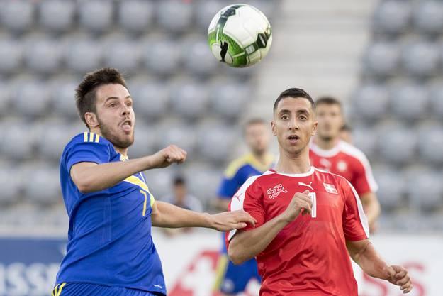 In Biel gewinnt die Schweizer U21-Auswahl gegen Bosnien mit 1:0