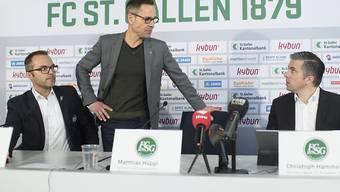 Der neue Verwaltungsrat des FC St. Gallen unter Präsident Matthias Hüppi ist daran, die Altlasten aus der Zeit der früheren Führung zu bereinigen
