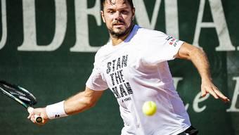 Stan Wawrinka kommt am Masters-1000-Turnier in Rom zu spät in Schwung und scheidet aus