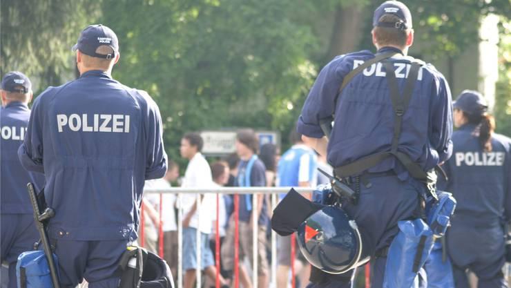 Die FCA-verantwortlichen hoffen, dass die Fans ruhig bleiben und die Polizei nichteingreifen muss. az