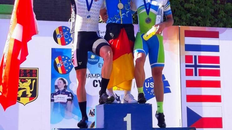 David Amsler mit Silbermedaille bei den USPE Europameisterschaften im Strassenrennen