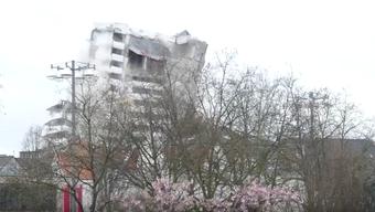 Sprengung des Bonn Centers am 19. März 2017