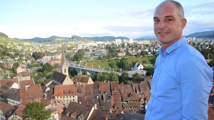 Marco Kaufmann ist Präsident des Verein Traktandum 1.