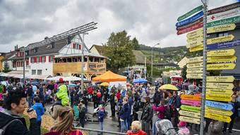 Die Sicherheitskräfte hatten am diesjährigen Winzerfest mehr zu tun als in den Vorjahren.