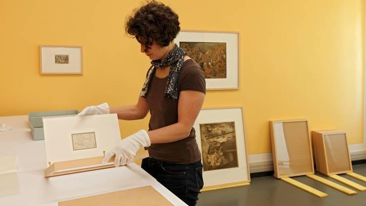 Hüterin von rund 2000 Werken Distelis: Katja Herlach, stv. Direktorin des Kunstmuseums Olten.
