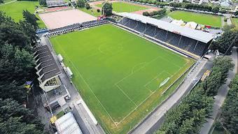 Das Gersag-Stadion zu Emmenbrücke: Spielt GC nächste Saison hier?