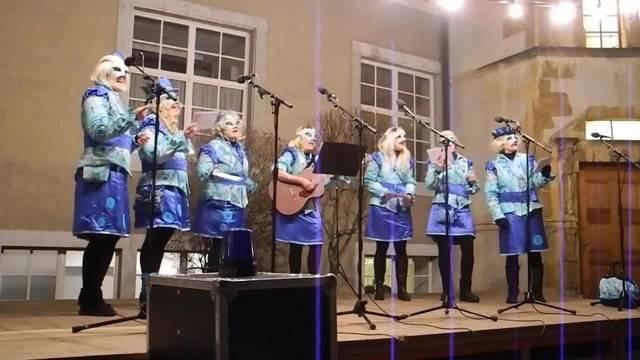 Schnitzelbankgruppe Elisi am Höflisingen 2018