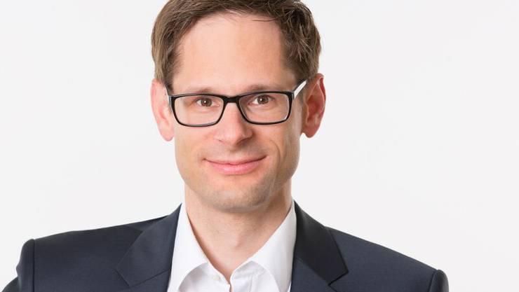 Grossrat Silvan Hilfiker (Oberlunkhofen), ab 2017 Vizepräsident der FDP-Fraktion