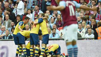 Arsenal jubelt im Cupfinal gleich viermal und verteidigt seinen Titel