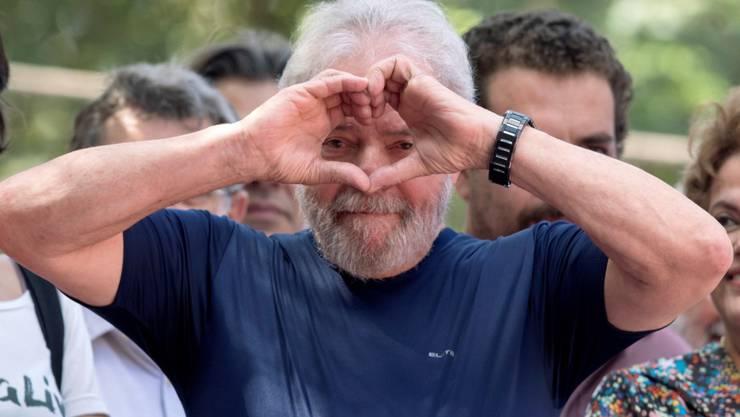 Muss im Gefängnis bleiben: Brasiliens Ex-Präsident Luiz Inácio Lula da Silva. (Archivbild)