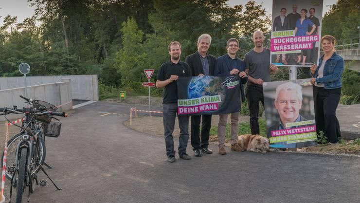 Wasserämter Kandidierende und Ständeratskandidat Felix Wettstein