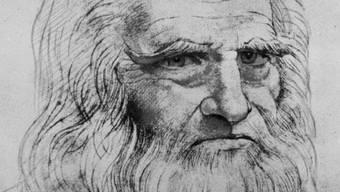 Ein neues Bild des Meisters? Selbstporträt von Leonardo da Vinci (Archiv)