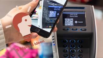 Das Bezahlen über Apps wie Twint hat in den letzten Jahren stark zugenommen.