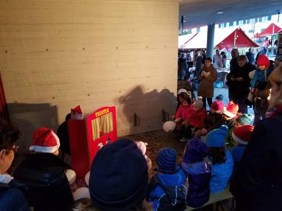 Unser Kasperlitheather am Weihnachtsmarkt Gebenstorf
