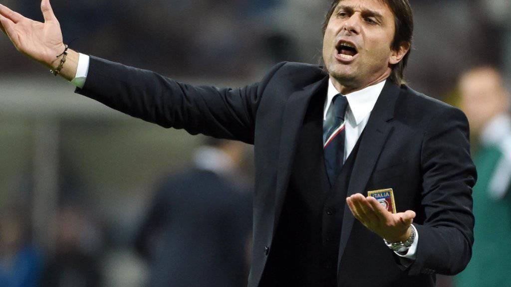 Italiens Nationaltrainer Antonio Conte steht im Visier der Justiz