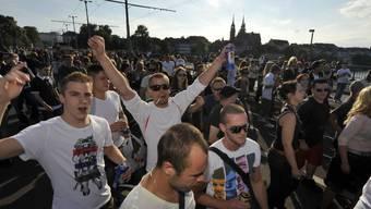 Auch sechs Jahre später noch politisch: Jungle Street Groove 2012.