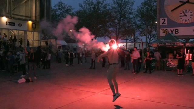 Young Boys: Die Meisterfeier begann schon vor dem Stadion