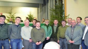 Solothurner Jägernachwuchs: Diese 11 Jungjäger und eine Jungjägerin haben im Jahr 2012 die Jagdprüfung bestanden. Mirjam Jäger-Clavadetscher