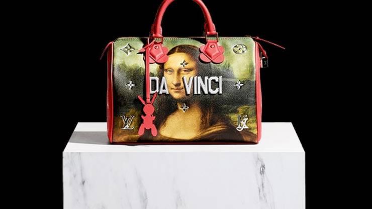 Louis Vuitton bietet echte Koons mit falschem Da Vinci an. (Handout)