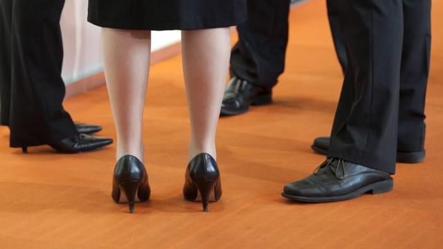 Frauen sind in der Geschäftswelt weiterhin in der Minderzahl