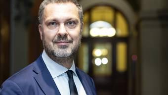 «Es hilft niemandem weiter, wenn die EU das Verhältnis zur Schweiz mit Sticheleien verschlechtert»: Luca Visentini.  Bild: Peter Schneider/Key (Bern, 26. September 2019