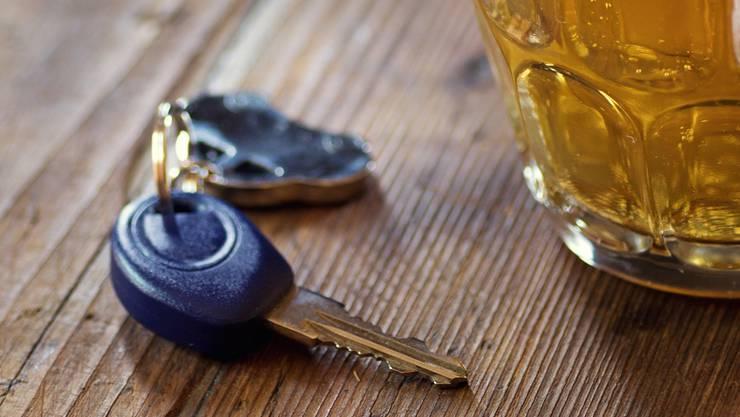 Fahren in angetrunkenem Zustand: Einen Mann aus dem Zurzibiet kommt dies teuer zu stehen. (Symbolbild)
