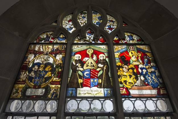 Die Glasmalereien sind zwischen 2006 und Ende 2013 für 1,85 Millionen Franken restauriert worden