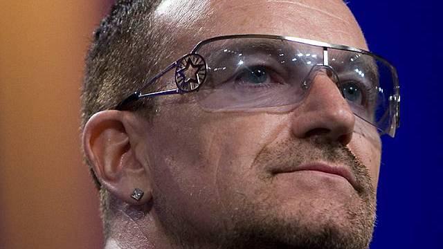 Bono, ein gerne gesehener Gast (Archiv)