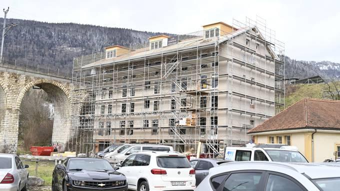 Zufall? Von der geplanten Überbauung am Ölirain werden zuerst einmal die günstigen Wohnungen im Altbau realisiert.
